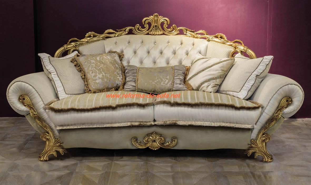 Reforma de sof colonial os melhores tapeceiros para reparo de estofados antigos reforma de - Sofas estilo colonial ...