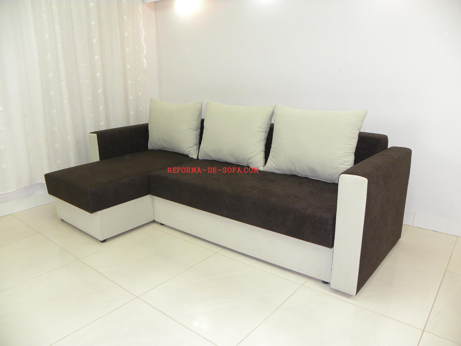 Mudar o modelo do sof sof com novo visual diminuir o for Sofas articulados modelos
