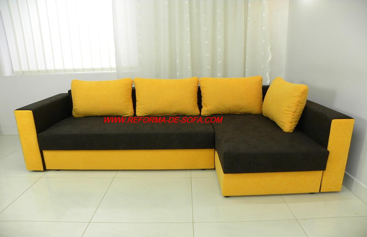 Mudar o modelo do sof sof com novo visual diminuir o for Modelos de sofas clasicos