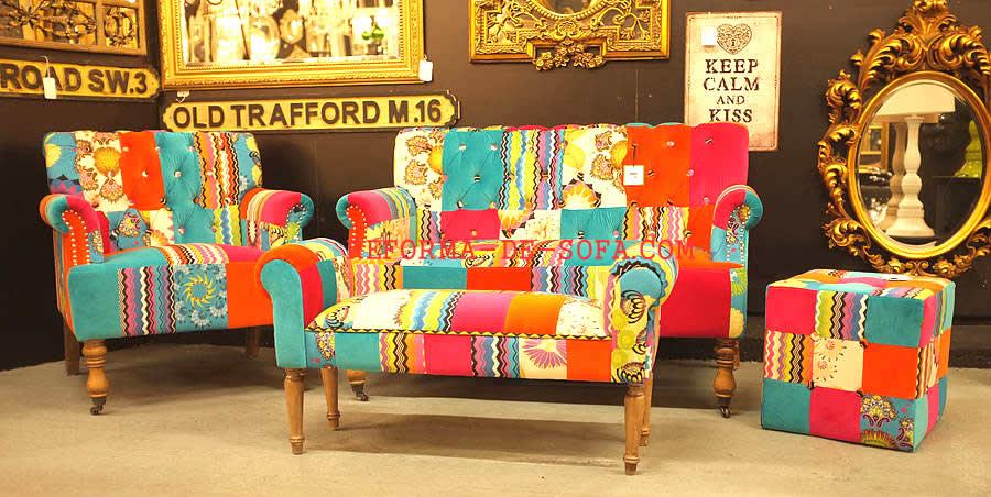 Patchwork tecidos e couros atendemos s o paulo santo for Sofa patchwork